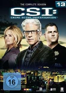 CSI Las Vegas Season 13, 6 DVDs
