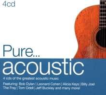 Pure...Acoustic, 4 CDs