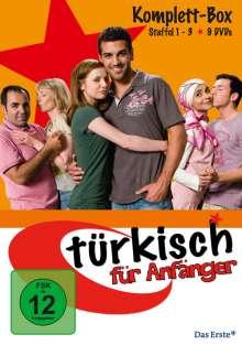 Türkisch für Anfänger (Komplette Serie), 9 DVDs