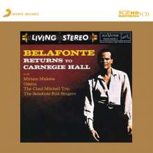 Harry Belafonte: Returns To Carnegie Hall (K2HD Mastering) (Limited Numbered Edition), CD