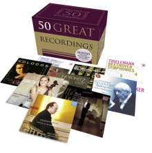 50 Great Recordings, 50 CDs