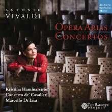 Antonio Vivaldi (1678-1741): Opernarien und Konzerte, CD