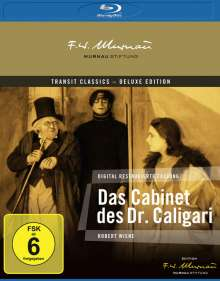 Das Cabinet des Dr. Caligari (Blu-ray), Blu-ray Disc