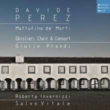 Davide Perez (1711-1778): Mattutino de' Morti, CD