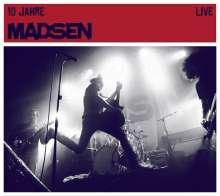 Madsen: 10 Jahre Madsen Live (2CD + DVD), 2 CDs