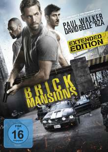 Brick Mansions, DVD