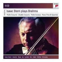 Johannes Brahms (1833-1897): Isaac Stern plays Brahms, 5 CDs