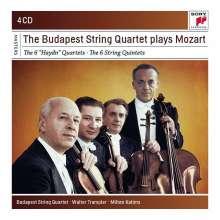"Wolfgang Amadeus Mozart (1756-1791): Streichquartette Nr.14-19 ""Haydn-Quartette"", 4 CDs"