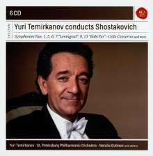 Dmitri Schostakowitsch (1906-1975): Symphonien Nr.1,5-7,9,13, 6 CDs