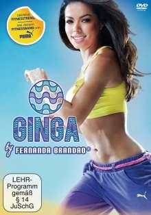 Ginga by Fernanda Brandao, DVD