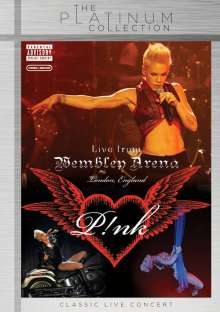 P!NK: Live At Wembley Arena (The Platinum Collection) (Explicit), DVD