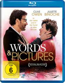Words and Pictures (Blu-ray), Blu-ray Disc