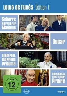 Louis de Funes Edition 1, 4 DVDs