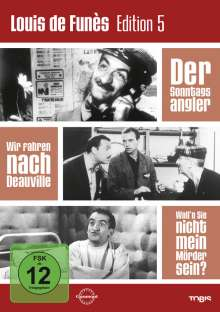 Louis de Funes Edition 5, 3 DVDs
