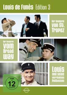 Louis de Funes Edition 3, 3 DVDs