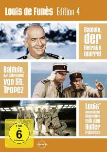 Louis de Funes Edition 4, 3 DVDs
