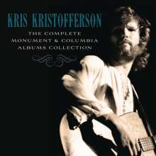Kris Kristofferson: The Complete Monument & Columbia Albums Collection, 16 CDs