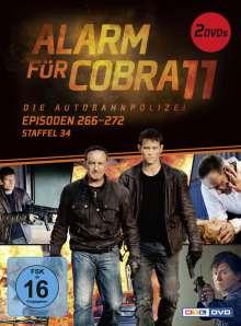 Alarm für Cobra 11 Staffel 34, 2 DVDs