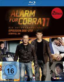 Alarm für Cobra 11 Staffel 34 (Blu-ray), 2 Blu-ray Discs