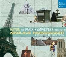 "Joseph Haydn (1732-1809): Symphonien Nr.82-87 ""Pariser"", 3 CDs"