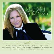 Barbra Streisand: Partners, CD