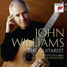 John Williams - The Guitarist (Complete Columbia Album Collection), 58 CDs und 1 DVD