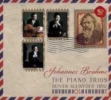 Johannes Brahms (1833-1897): Klaviertrios Nr.1-4, 2 CDs
