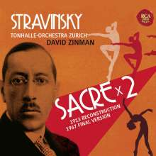 Igor Strawinsky (1882-1971): Le Sacre du Printemps, 2 CDs