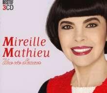 Mireille Mathieu: Une Vie D'Amour, 3 CDs