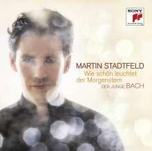Martin Stadtfeld - Wie schön leuchtet der Morgenstern (Der junge Bach), CD
