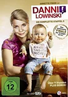 Danni Lowinski Staffel 5 (finale Staffel), DVD