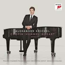 Alexander Krichel - Chopin/Mozart/Hummel, CD