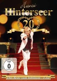 Hansi Hinterseer: Das Beste zum Jubiläum - Live, DVD