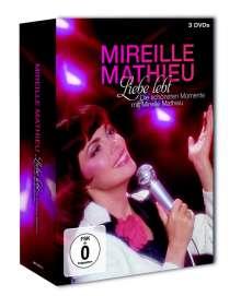 Mireille Mathieu: Liebe lebt: Die schönsten Momente mit Mireille Mathieu, 3 DVDs
