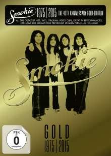 Smokie: 40th Anniversary Gold-Edition 1975 - 2015, 3 DVDs