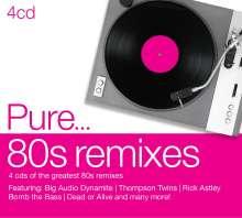 Pure... 80s Remixes, 4 CDs