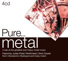 Pure... Metal, 4 CDs