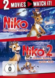 Niko 1 & 2, 2 DVDs