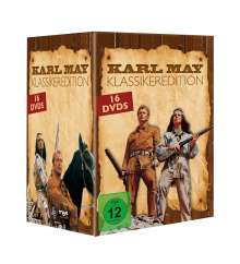 Karl May - Klassikeredition, 16 DVDs