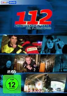 112 - Sie retten Dein Leben Vol. 7 (finale Box), 2 DVDs