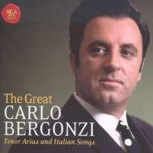 The Great Carlo Bergonzi - Tenor Arias & Italian Songs, 2 CDs