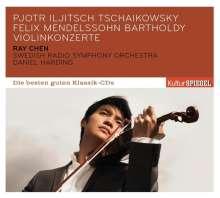 Ray Chen - Violinkonzerte von Tschaikowsky & Mendelssohn, CD
