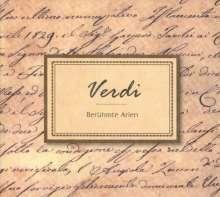 Giuseppe Verdi (1813-1901): Berühmte Arien, CD