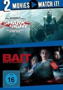 Shark Night / Bait, 2 DVDs