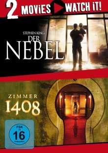 Der Nebel / Zimmer 1408, 2 DVDs