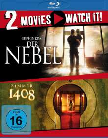 Der Nebel / Zimmer 1408 (Blu-ray), 2 Blu-ray Discs