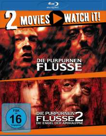 Die purpurnen Flüsse 1 & 2 (Blu-ray), 2 Blu-ray Discs