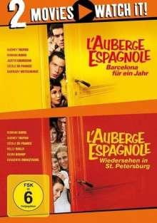 L'auberge Espagnole 1 & 2, 2 DVDs