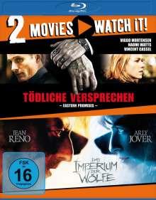 Tödliche Versprechen / Das Imperium der Wölfe (Blu-ray), 2 Blu-ray Discs