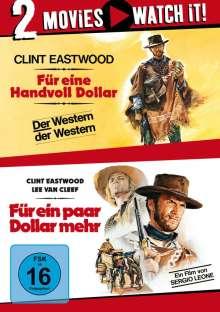 Für eine Handvoll Dollar / Für ein paar Dollar mehr, 2 DVDs